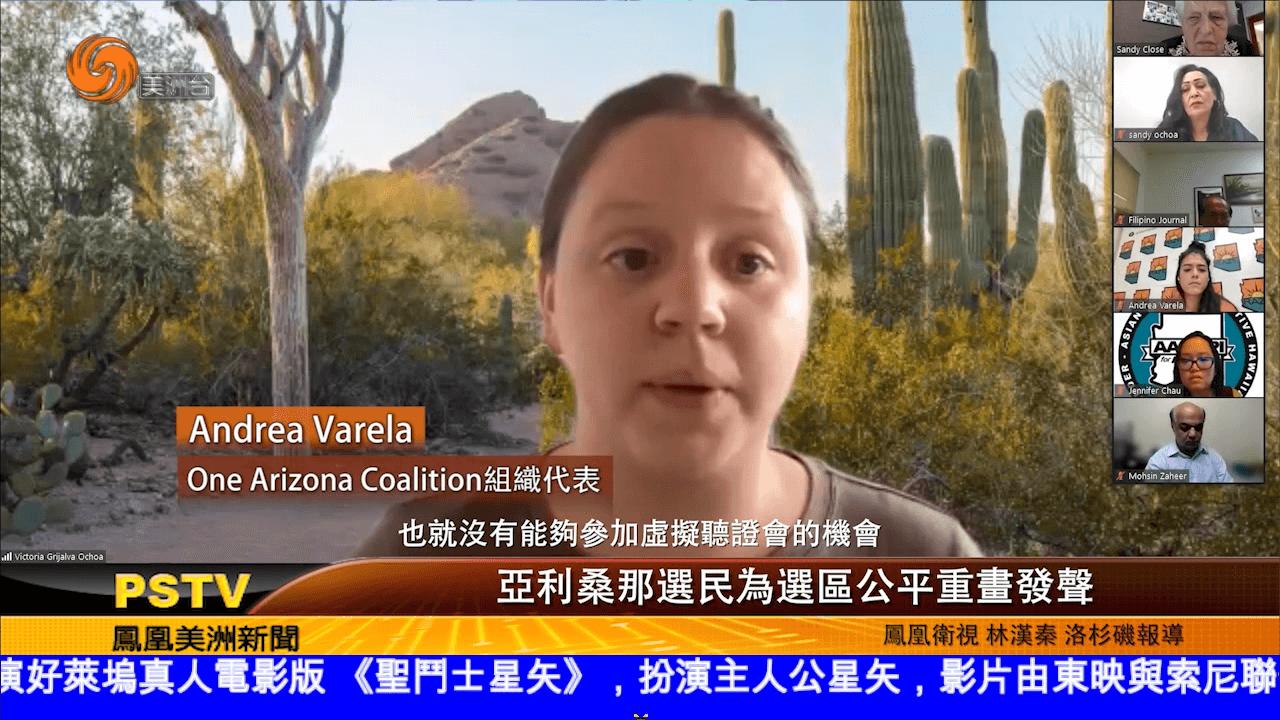 亚利桑那选民为选区公平重画发声