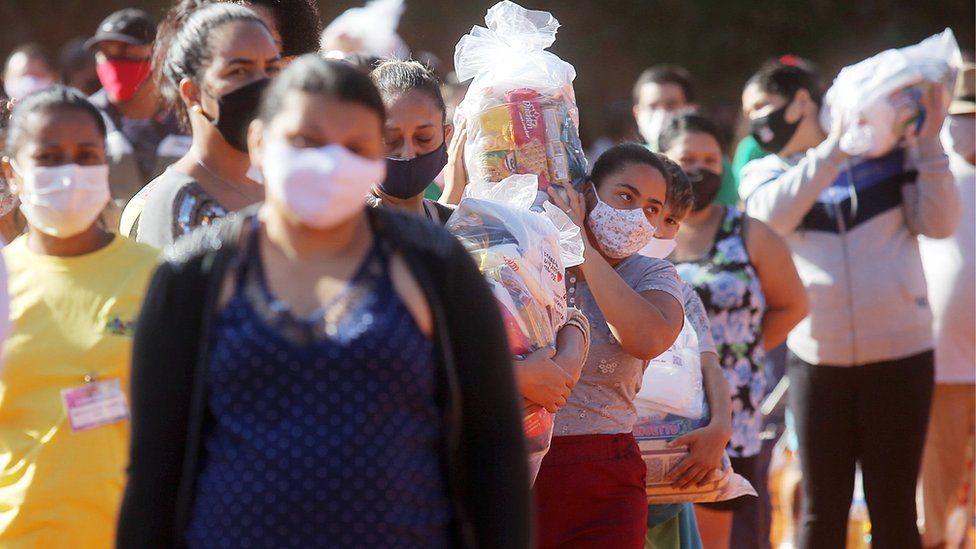 新冠疫情使巴西饥饿问题恶化 约1910万人面临粮食短缺问题