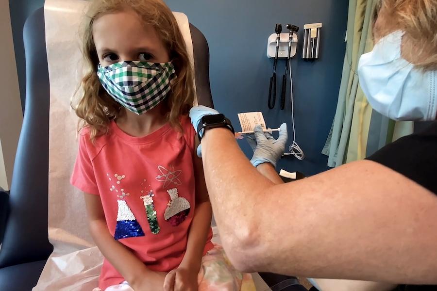 10/7 美国疫情更新:辉瑞向FDA申请面向5-11岁儿童的疫苗授权;女性接种辉瑞疫苗后免疫水平高于男性