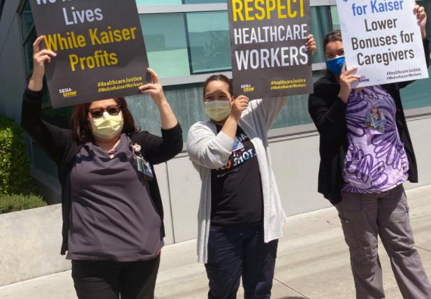 凯萨医疗机构同意工会在劳资合约谈判破局时发动罢工