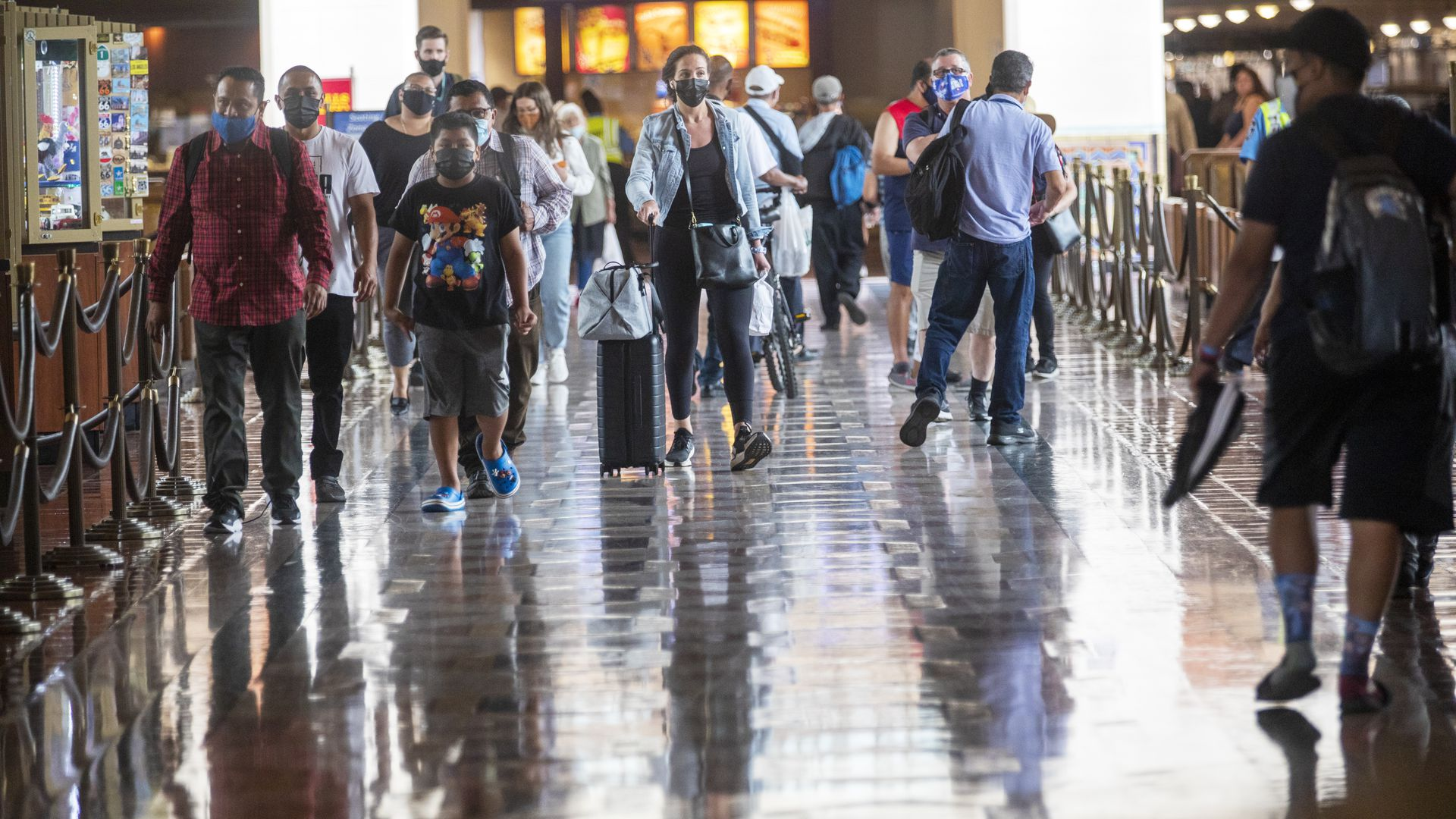 洛杉矶县新增新冠病例均为Delta变种感染